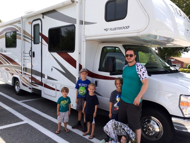 Family RV Trip tips